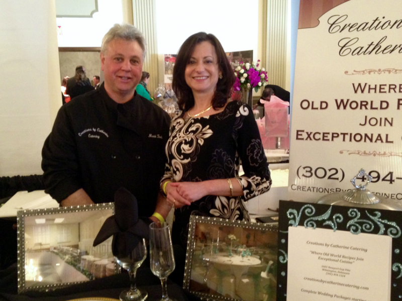 Mark and Catherine, Delaware Today Bridal Show